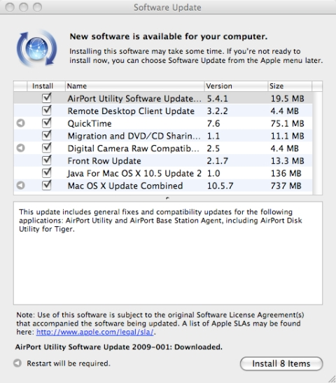 Apple Updater